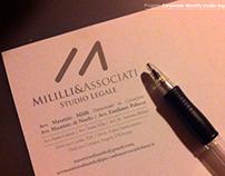 Corporate Identity Studio Legale Mililli&Associati