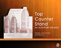 Top counter stand design   ALFAPARF MILANO