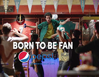 PEPSI + NFL BORN TO BE FAN 2016