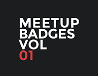 Meetup Badges Vol.1