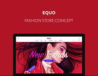 EQUO — Fashion store concept