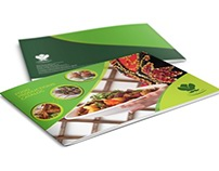 Food Products Catalog Brochure Template - 24 Pages