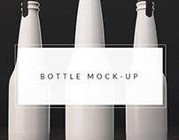 7+ Best Free Bottle Mockups & Templates