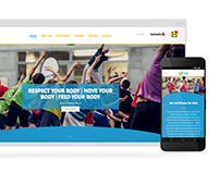 Fitness for Kids - Website Redesign