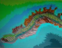 Fractal Worm 3D
