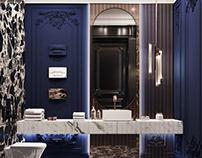 Midnight Blue Bath