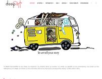 Κατασκευή ιστοσελίδας www.deepart.gr