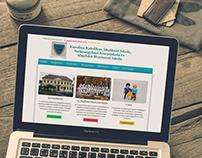 Web design for elementary school
