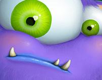 Little Closet Monster – Concept art & character design