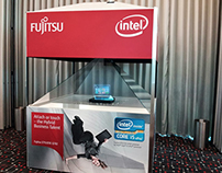 Fujitsu and Intel with Realfictions Dreamoc S.360 XXL