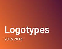 Logotypes 2015-2018
