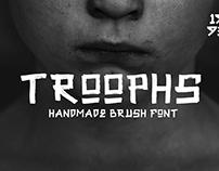 Troophs - Brush Fonts