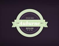AUBURNE DISTILLERY Branding Concept