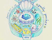 Polly Pocket Jeweled Sea