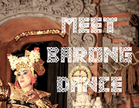 MEET BARONG DANCE --- Balifornia Dreamin Part 3