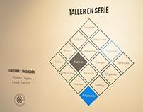 Exposición Taller en Serie (Curaduría y producción)