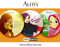 Button Badges - ALFIYA