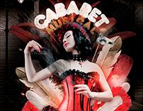 Cabaret Musical Flyer Template