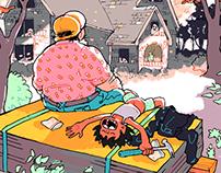 Home Beings (comic p. 1-3)