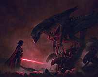 2015 - 501st Legion: Vader's Fist VS Space Cockroaches2