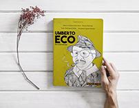 Ilustração - Capa do livro - Umberto Eco em Narrativas