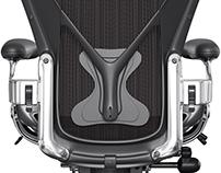 Aeron Chair CGI