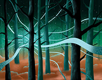Illustration - Magical Forest