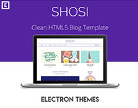 SHOSI - Clean HTML5 Blog Template