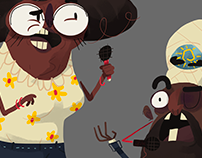 Character Design - News Report