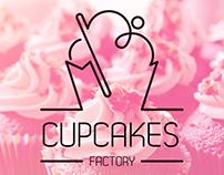 Cupcakes Factory Logo