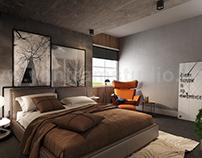 Modern Master Bedroom Interior Design Concept