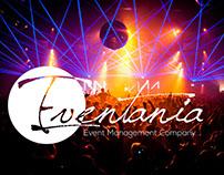 Eventania Logo&Mobile App Flyer