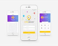 ImmaSecure App UI/X Design