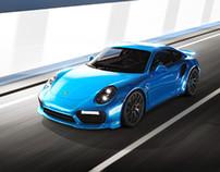 Porsche 911 Turbo S_Tunnel001