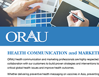 ORAU HEE-H Marketing Flyer