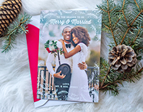 2016 Christmas Card design for kleinfeld Paper