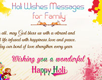 5 Best Colorful Happy Holi 2016 Wishes Images