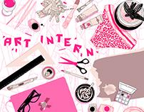 Art Intern Poster