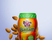 Bournvita Badam Booster Outdoor Launch