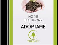 Aplicación móvil TreeApp para Reserva Rogitama