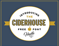 Ciderhouse - FREE FONT