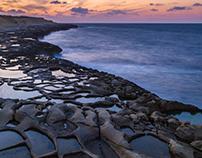 Salt Pans, Marsalforn, Gozo, Malta