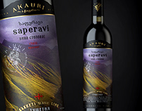 "Georgian wine ""AKAURI KAKHETI WINE LINE"""