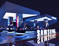 SAMSUMG BGS Booth 2018
