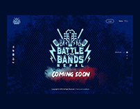 Battle of the Bands Nepal UI Design