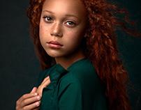 FINE ART portrait of Tiarna