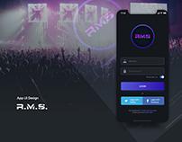 R.M.S Concept design