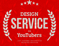 YouTuber Merch - Graphic Design service for youtubers