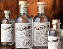 Fieldnotes (La Crosse Distilling) Spirits Packaging