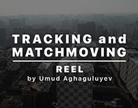 TRACKING and MATCHMOVING reel